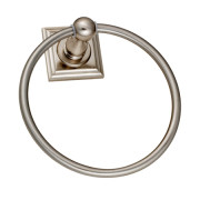 AUSTIN TOWEL RING-Satin Nickel