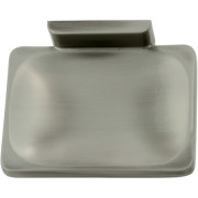 CHELSEA/DUNHILL SOAP HOLDER-Satin Nickel