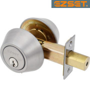 DOUBLE-DEADBOLT-Satin Nickel