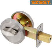 FULL-BORE-ONE-SIDED-DEADBOLT-Satin Nickel
