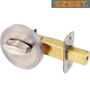 HALF-BORE-ONE-SIDED-DEADBOLT-Satin Nickel
