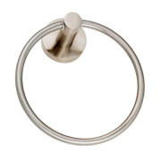 HOLLYWOOD TOWEL RING-Satin Nickel