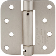 RESIDENTIAL SPRING HINGE-Satin Nickel