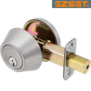 SINGLE-DEADBOLT-Satin Nickel