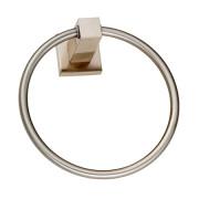 SOHO TOWEL RING-Satin Nickel
