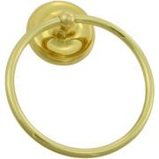 STRATFORD TOWEL RING-Polished Brass