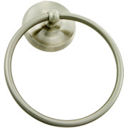 STRATFORD TOWEL RING-Satin Nickel
