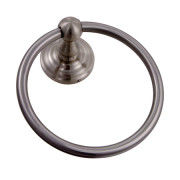 WALDEN TOWEL RING-Satin Nickel