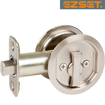 Round Pocket Door Hardware round pocket door locksez-set | unhinge