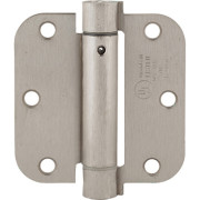 3.5 SPRING HINGE-Satin Nickel