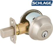 ONE SIDE KEYED DEADBOLT-Satin Nickel