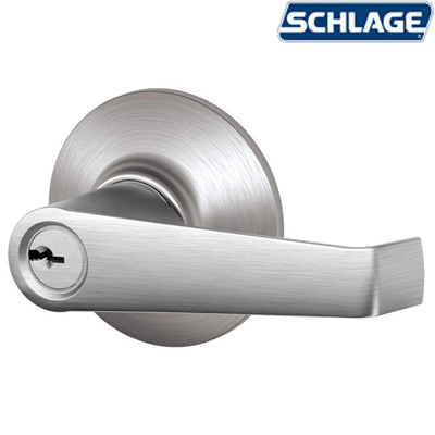 Elan Satin Chrome By Schlage Unhinge