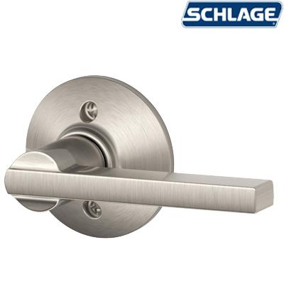 Century Active Handleset Satin Nickel By Schlage Unhinge