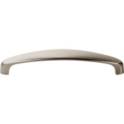 Contemporary Curved-Top Pull NICKEL