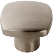 Contemporary Square Top Knob NICKEL