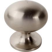 Traditional Egg-Shaped Knob NICKEL