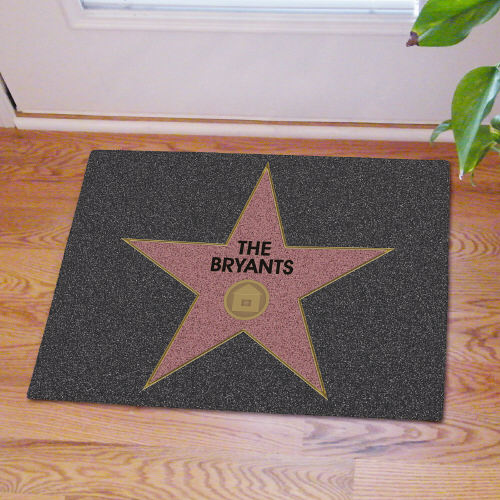 Personalized Hollywood Doormat